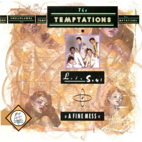 The Temptations – Lady Soul - A Fine Mess - Papa Was A Rollin' Stone - Maxi Vinyl 12 inches