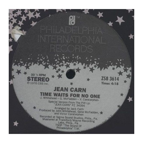 Jean Carn - Time Waits For No One / Free Love - Maxi Vinyl USA
