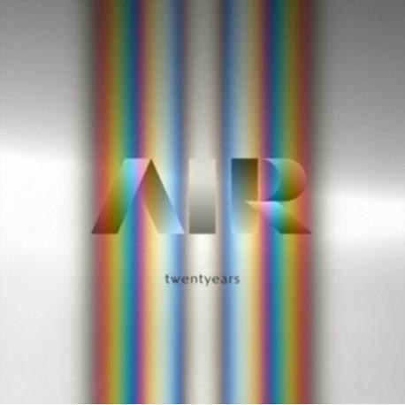 Air - Twentyears - Coffret Double LP Vinyl + 3 CD - Limited Edition - Coloured Records