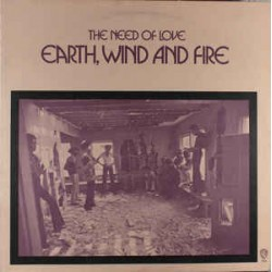Earth, Wind And Fire – The Need Of Love - LP Vinyl Album + MP3 Code