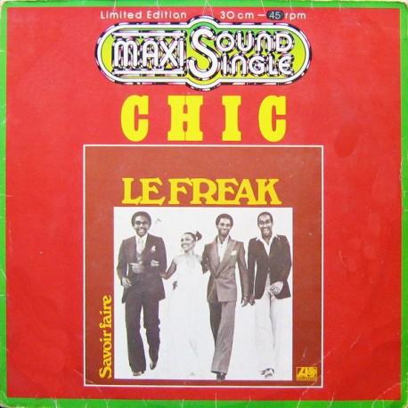 Chic – Le Freak - Maxi Vinyl 12 inches - Coloured Orange