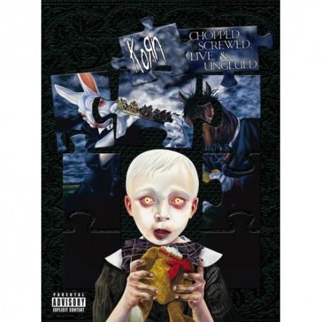 Korn – Chopped, Screwed, Live & Unglued - 2 CD + 1 DVD Box Collector