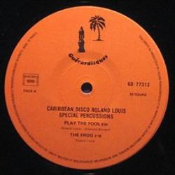 Roland Louis – Caribbean Disco - Maxi Vinyl France 1979