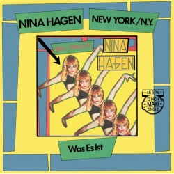 Nina Hagen ‎– New York/N.Y. - Maxi Vinyl 12 inches