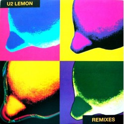 U2 ‎– Lemon - Remixes - Maxi Vinyl 12 inches - Coloured Yellow