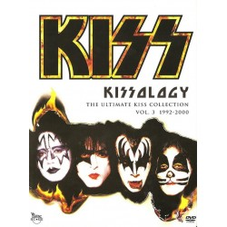 Kiss ‎– Kissology The Ultimate Kiss Collection Vol. 3 1992-2000 - DVD