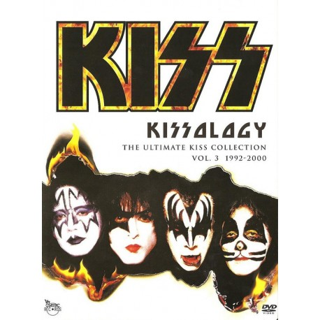Kiss – Kissology The Ultimate Kiss Collection Vol. 3 1992-2000 - DVD