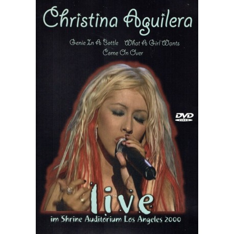 Christina Aguilera – Live Im Shrine Auditorium Los Angeles 2000 - DVD Video