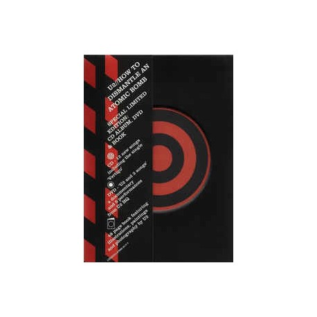 U2 – How To Dismantle An Atomic Bomb - Limited Edition - CD + DVD + Book