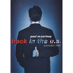 Paul McCartney ‎– Back In The U.S. - Concert Film - DVD Vidéo