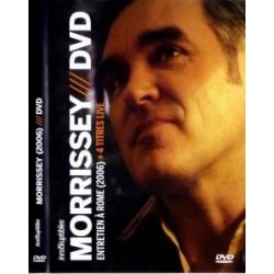 Morrissey – Entretien A Rome (2006) + 4 Titres Live - DVD Vidéo
