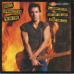 Bruce Springsteen – I'm On Fire - Maxi Vinyl 12 inches