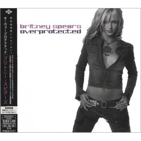 Britney Spears – Overprotected - CD Maxi Single Japan