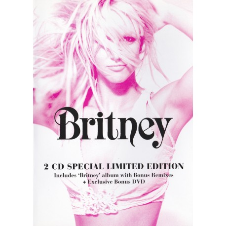 Britney Spears – Britney - Special Lited Edition CD-DVD - Australia