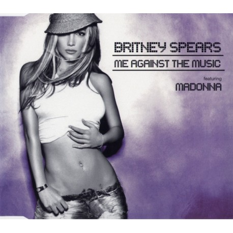 Britney Spears Featuring Madonna – Me Against The Music - CD Ma Single Australia - CD2