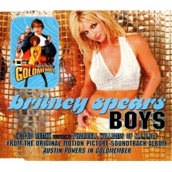 Britney Spears ‎– Boys - Co-Ed Remix - CD Maxi Single