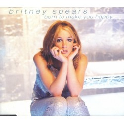 Britney Spears ‎– Born To Make You Happy - CD Maxi Single