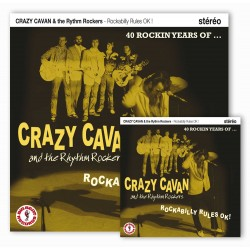 Crazy Cavan - ockabilly Rules OK! - LP Vinyl 10 inches + CD Album