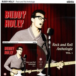 Buddy Holly ‎– Rock And Roll Anthologie Vol. 1 - LP Vinyl 10 inches + CD Album - Pack Collector