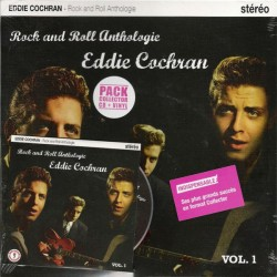 Eddie Cochran ‎– Rock And Roll Anthologie Volume 1 - LP Vinyl 10 inches + CD Album - Pack Collector