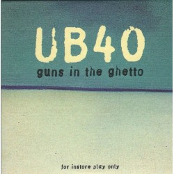 UB40 ‎– Guns In The Ghetto - CD Album Promo - Cardboard Sleeve