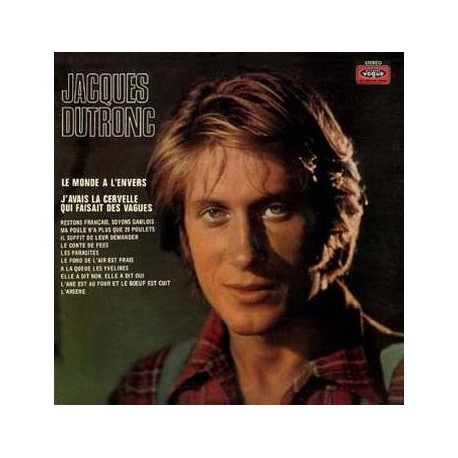 Jacques Dutronc ‎– Jacques Dutronc - Arsene - LP Vinyl Album - Coloured Red Marbled Black