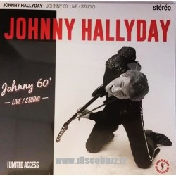 Johnny Hallyday - Johnny 60 Live Studio - LP Vinyl 10 inches - 25 Cm