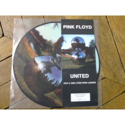 Pink Floyd ‎– United - Picture Disc Edition - Limited Edition Live Hyde Park