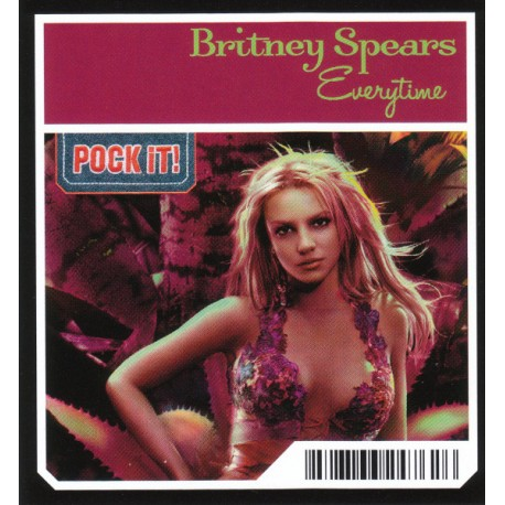 Britney Spears – Everytime - Mini CD Single 3 pouces - Collection Pock It