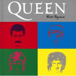 Queen ‎– Hot Space - CD Album Digibook