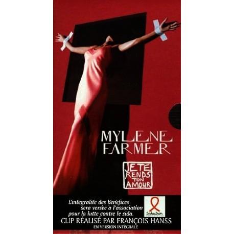 Mylene Farmer – Je Te Rends Ton Amour - Vidéo VHS Single SECAM