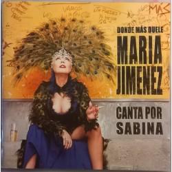 María Jiménez – Donde Más Duele (Canta Por Sabina) - CD Album