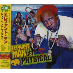 Elephant Man ‎– Let's Get Physical - CD Album Japan - Promo + Obi