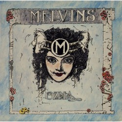 Melvins ‎– Ozma - LP Vinyl Album - Coloured Marbled