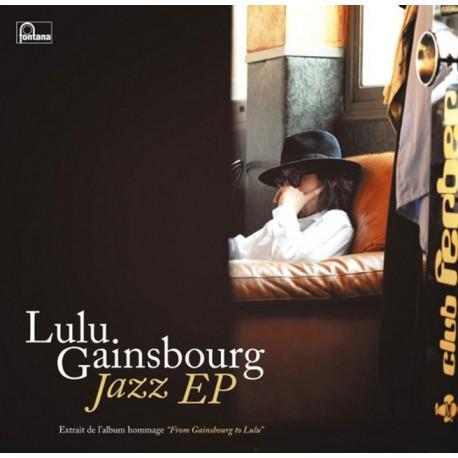 Lulu Gainsbourg - Jazz EP - 25cm Vinyl