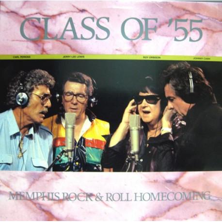 Carl Perkins, Jerry Lee Lewis, Roy Orbison, Johnny Cash – Class Of '55 - Memphis Rock & Roll Homecoming - LP Vinyl Album