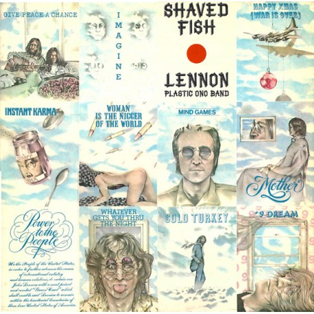 John Lennon (The Beatles) & Plastic Ono Band – Shaved Fish - LP Vinyl Album
