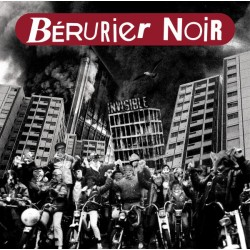 Bérurier Noir ‎– Invisible - LP Vinyl - Coloured Clear