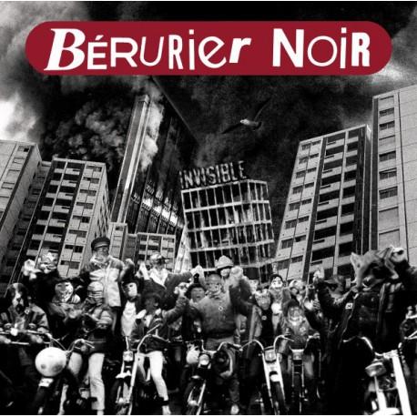 Bérurier Noir – Invisible - LP Vinyl - Coloured Clear