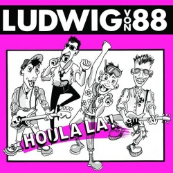 Ludwig Von 88 ‎– Houla La! - LP Vinyl Album - Coloured Pink + Livret