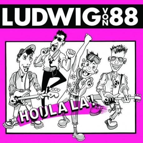 Ludwig Von 88 – Houla La! - LP Vinyl Album - Coloured Pink + Livret