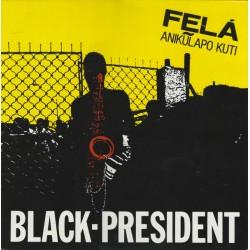 Fela Anikulapo Kuti – Black President - LP Vinyl Album