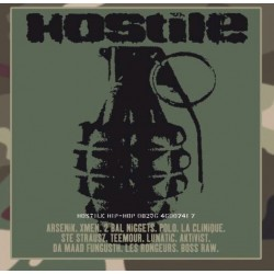 Hostile Hip-Hop - Compilation Rap Français - LP Vinyl Album - Coloured White - Limited Edition 20ème Anniversaire