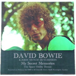 "David Bowie & John ""Hutch"" Hutchinson ‎– My Secret Memories - The Space Oddity Demos - LP Vinyl Album Coloured and Numbered"