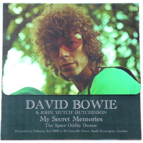 "David Bowie & John ""Hutch"" Hutchinson – My Secret Memories - The Space Oddity Demos - LP Vinyl Album Coloured and Numbered"
