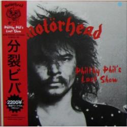 Motörhead – Philthy Phil's Last Show - LP Vinyl Album with Obi Japan