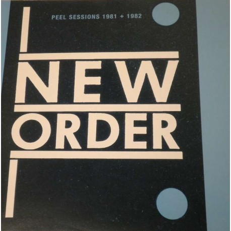 New Order ‎– Peel Sessions 1981 + 1982 - LP Vinyl Album