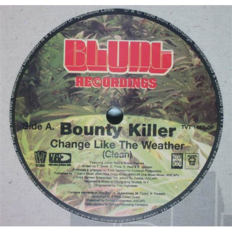Bounty Killer – Change Like The Weather - Maxi Vinyl 12 inches