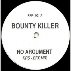 Bounty Killer ‎– No Argument - Maxi Vinyl 12 inches