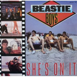 Beastie Boys ‎– She's On It - Maxi Vinyl 12 inches